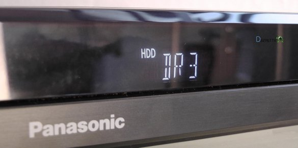 panasonic dmr-bct730 display