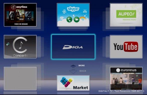 panasonic dmr-bct73 smart tv