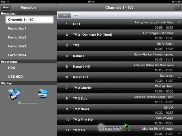 panasonic dmr-bct73 digaplayer app