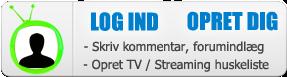Log ind /opret bruger på DIGITALT.TV