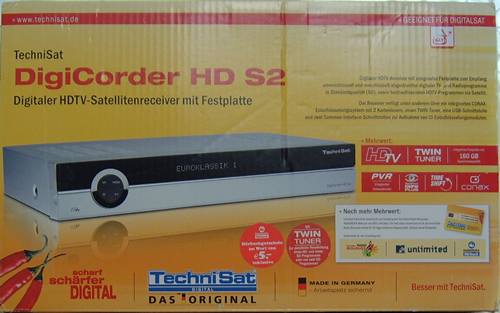 Technisat Digicorder HD S2