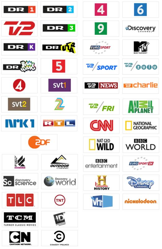 bredbånd tv pakke