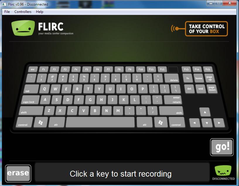 flirc setup keyboard