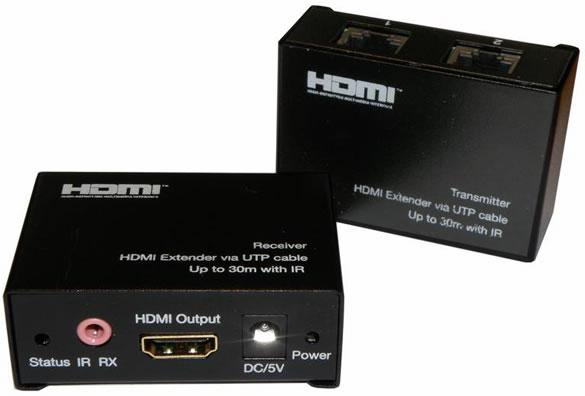 ex-04 HDMI Extender netværkskabel