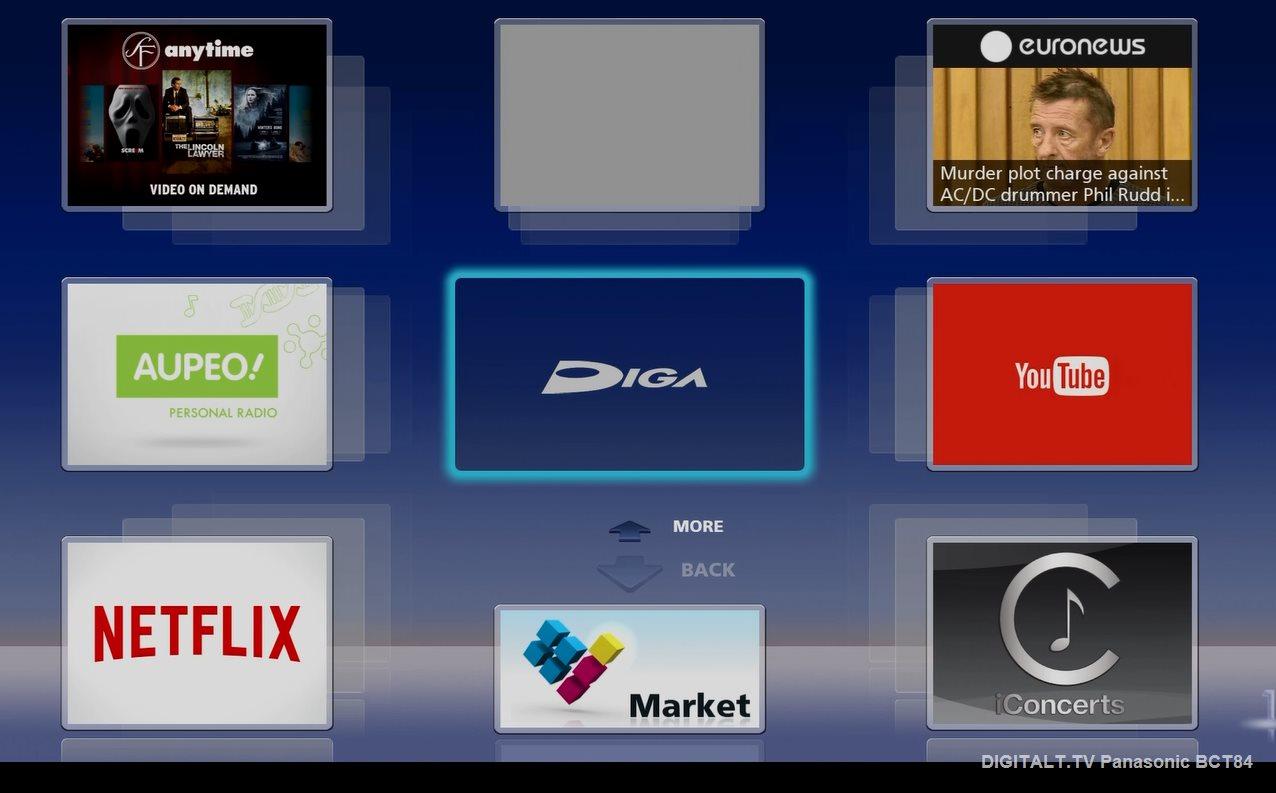 panasonic dmr bct84en test anmeldelse digitalt tv. Black Bedroom Furniture Sets. Home Design Ideas