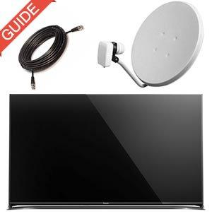 Parabol TV uden boks