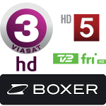boxer tv Kanal 5 HD TV3 HD TV 2 Fri HD