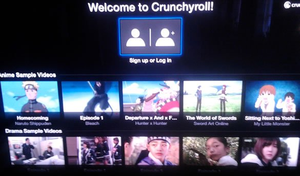 Crunchyroll Apple TV
