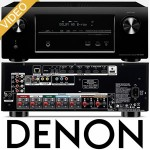 denon AVR-X2000 video