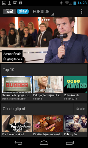 tv2 play Android