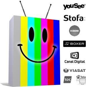 Bedste Billigste TV pakker Sammenligning