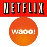 Foto af Netflix og Waoo! indgår partnerskab