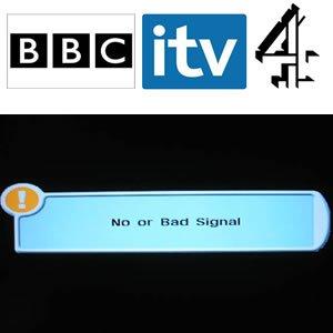 Britiske intet signal satellit