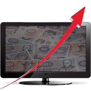 prisstigning tv