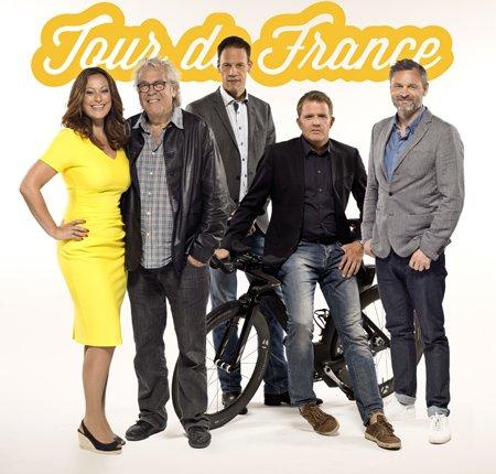 Tour de France-holdet på TV 2