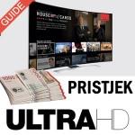 ultra hd tv pristjek