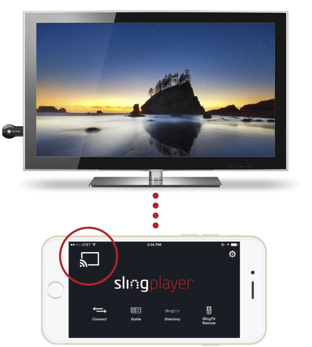 chromecast slingbox