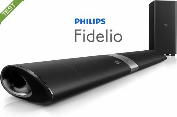 philips fidelio b5 Soundbar anmeldelse / test