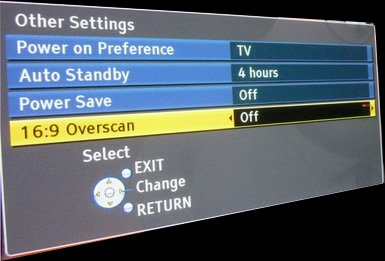 overscan off