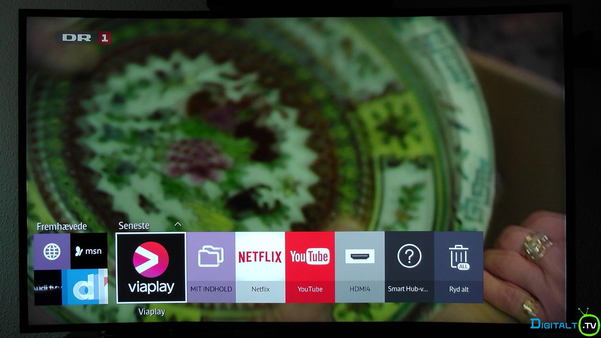 2015 Smart TV Tizen seneste