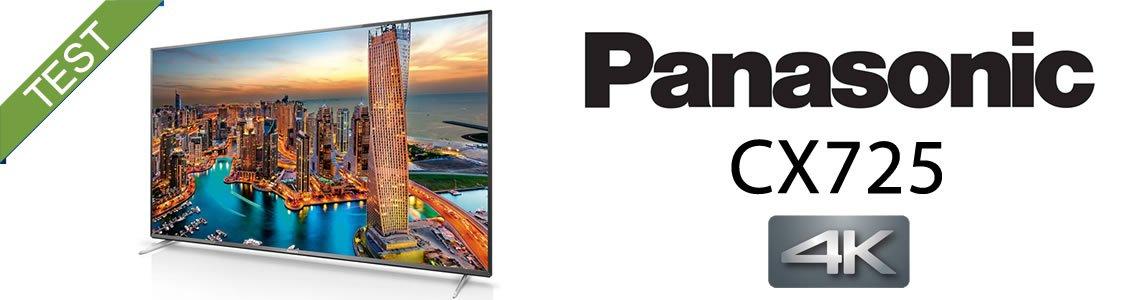 Panasonic CX725 Test Anmeldelse