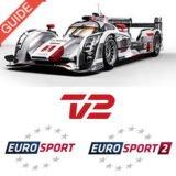 Foto af Le Mans 2016 på TV 2 og Eurosport