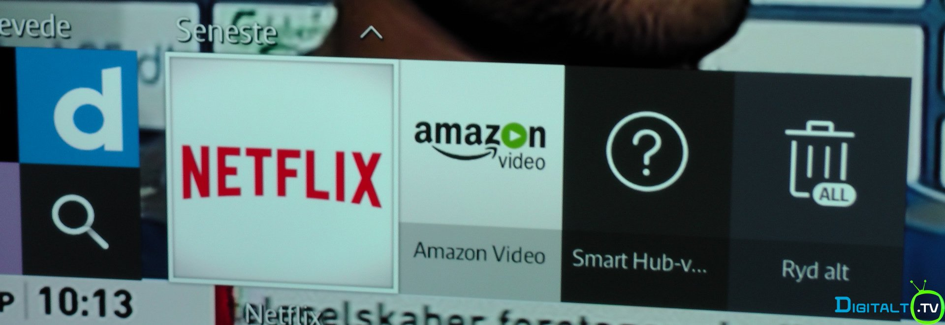 Amazon Samsung Tizen Smart TV menu