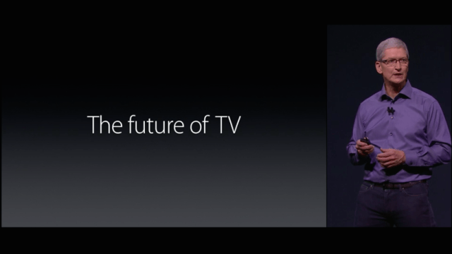 Apple TV future of TV