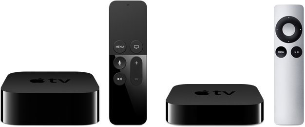 Apple TV ny gammel