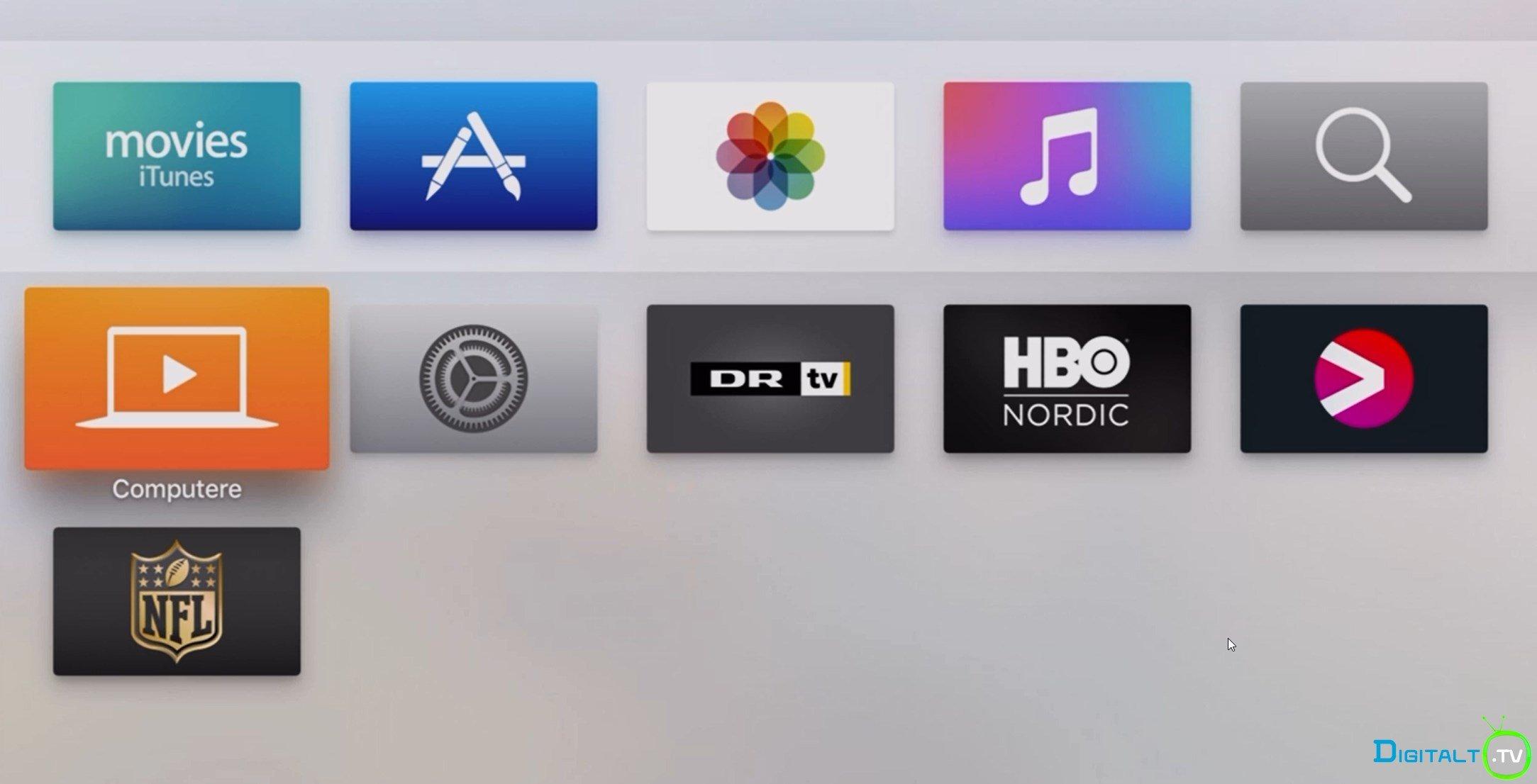 HBO Nordic, Viaplay og DR klar fra starten på den nye Apple TV : DIGITALT.TV