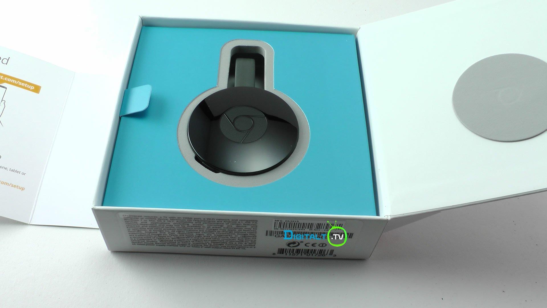 Ny Chromecast pakke åben