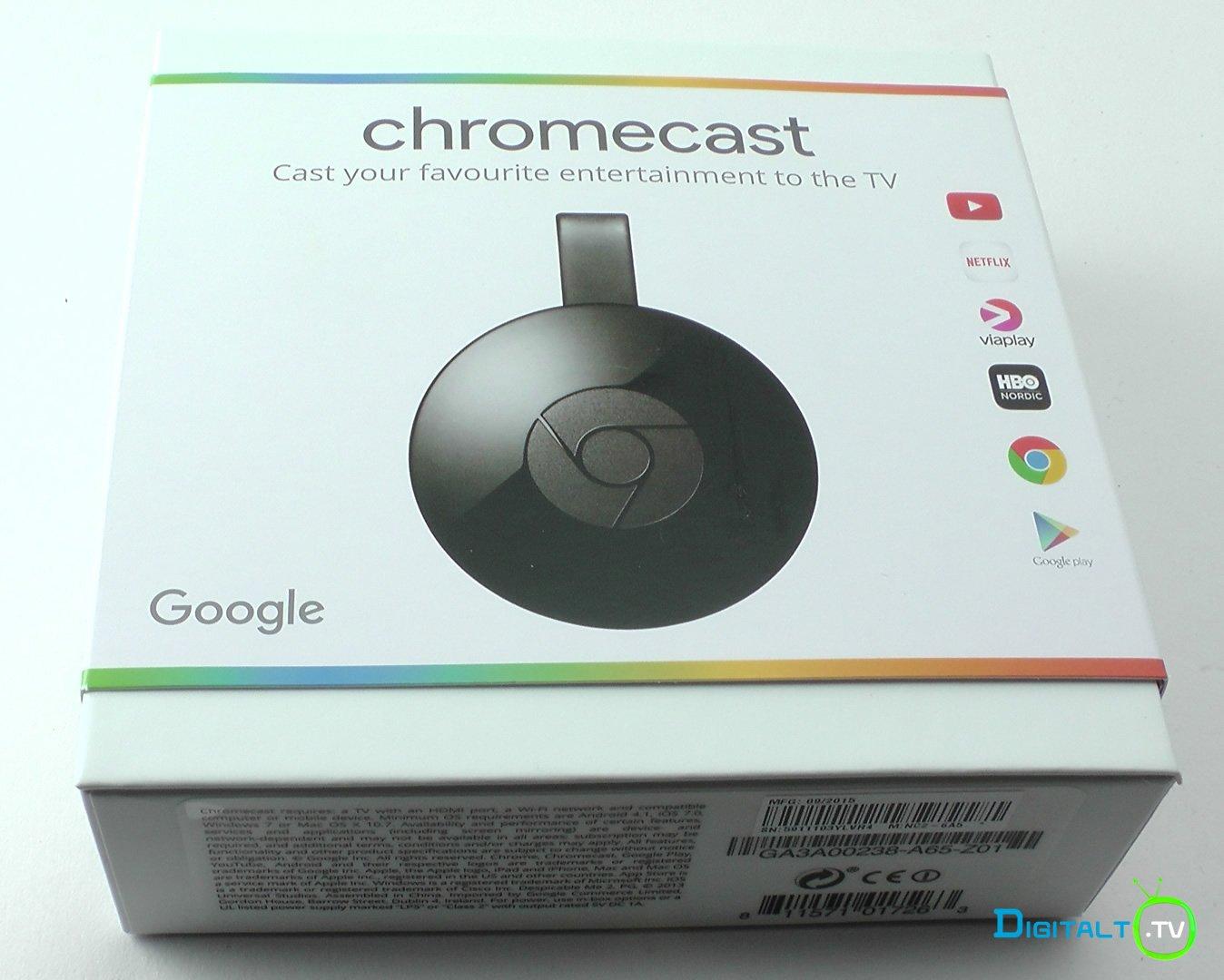 Ny Chromecast pakke