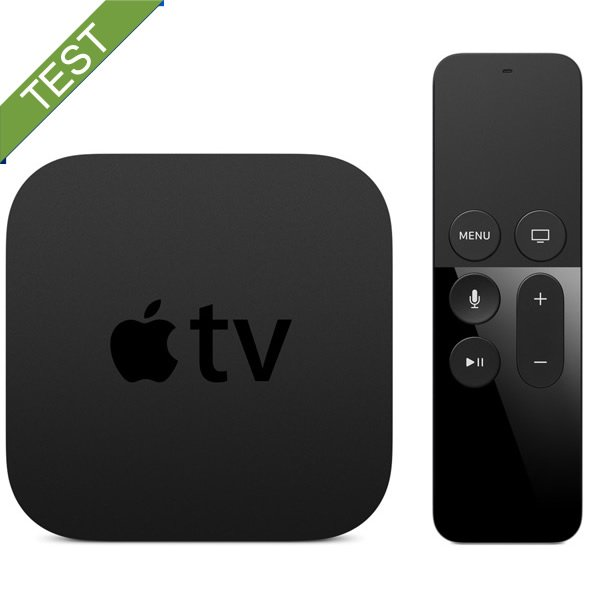 Apple TV 4 Test