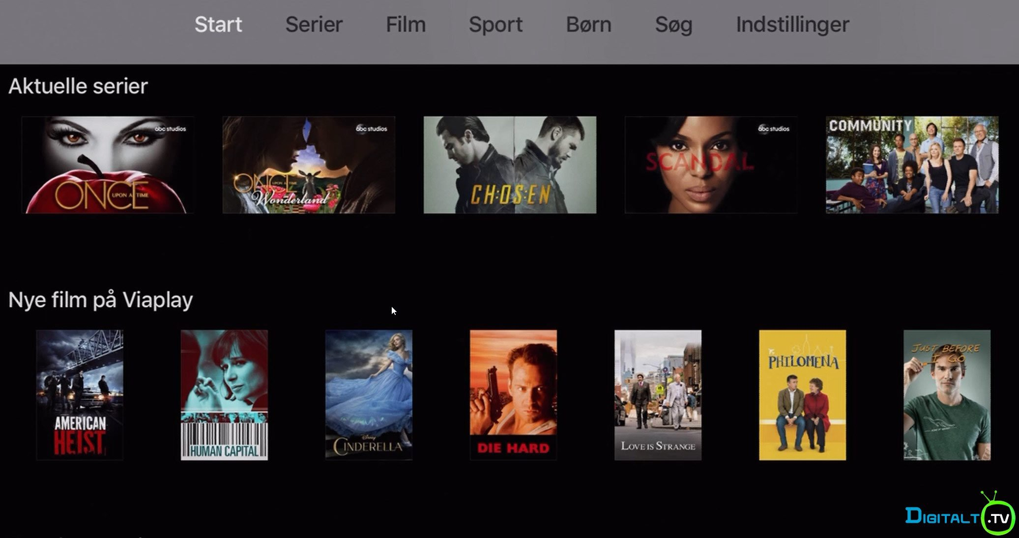 få viaplay på smart tv