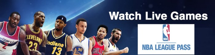 NBA League pass header