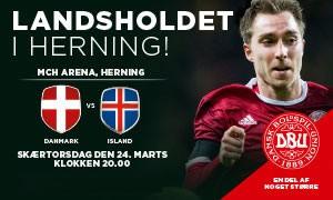 Danmark - Island landskamp