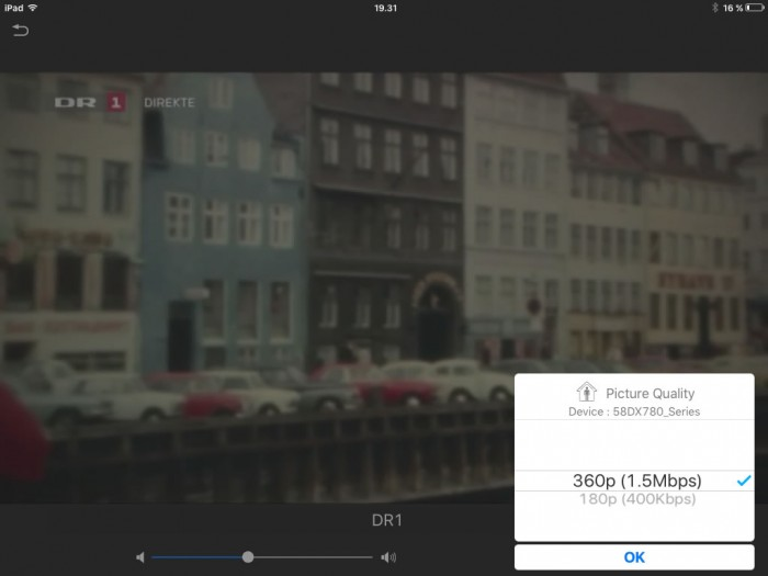 Mediacenter ipad streaming