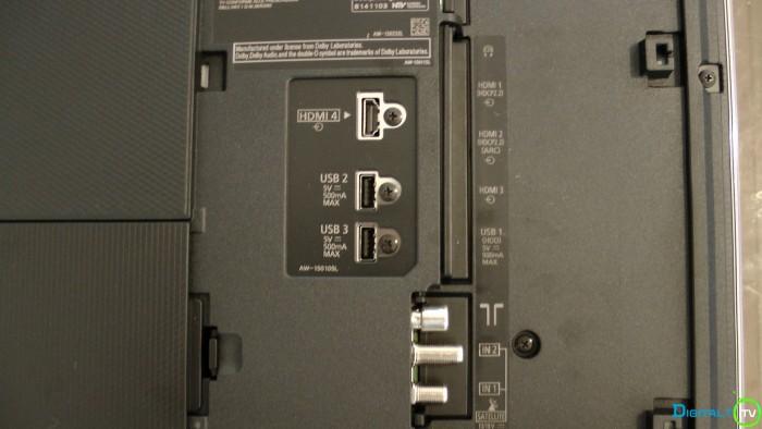 Panasonic DX780 tilslutninger 1