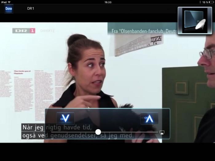 Panasonic TV Remote app stream