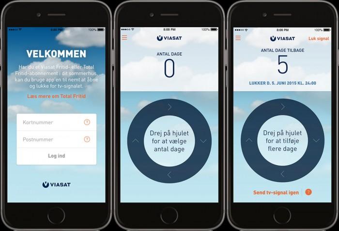 Viasat sommerhus app