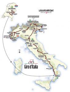Giro d'Italia 2016 på TV