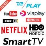 Foto af Oversigt: Smart TV apps på TV fra Sony, LG, Samsung, Philips og Panasonic