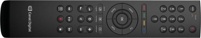 Canal Digital Entertain Smart remote