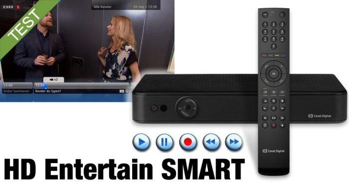 Canal Digital HD Entertain Smart boks Anmeldelse / Test