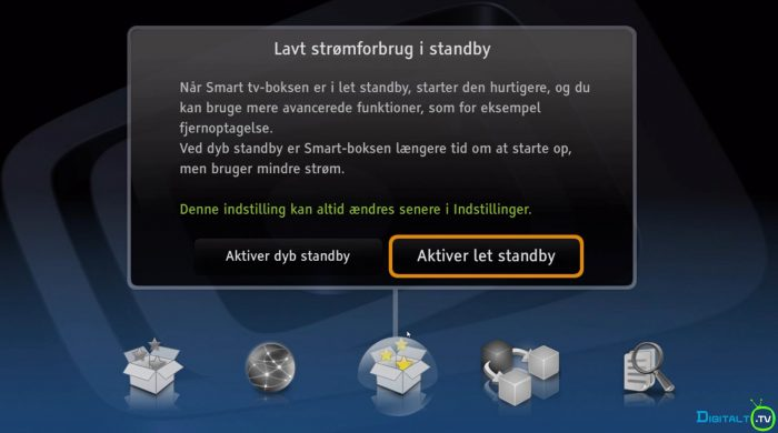 Canal Digital Smart dyb let standby