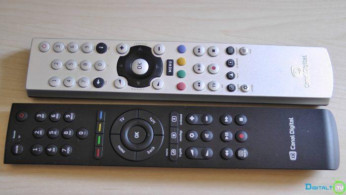 Canal Digital fjernbetjening ny og gammel