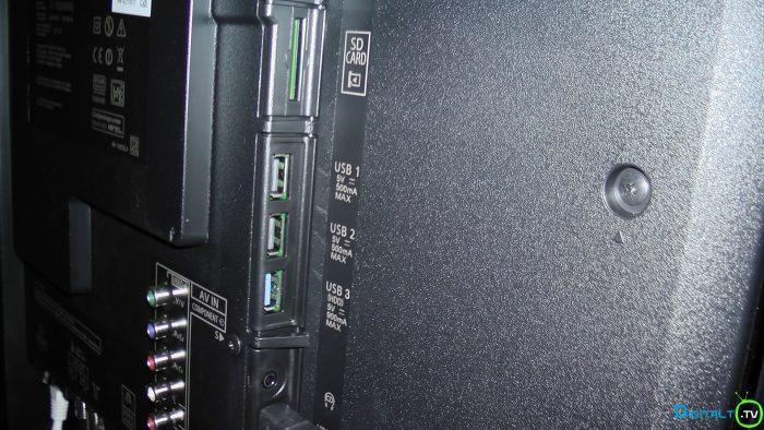 Panasonic DX900 tilslutninger usb