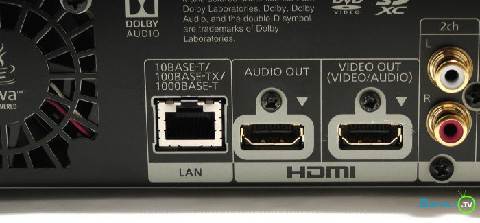 Panasonic UB900 bag hdmi