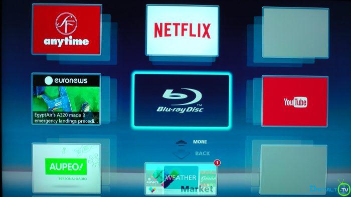 Panasonic UB900 network services