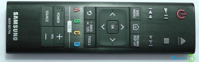 Samsung UBD-K8500 fjernbetjening
